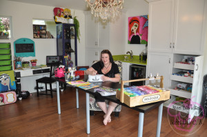 Nicci Battilana ART STUDIO by Sandra Tice