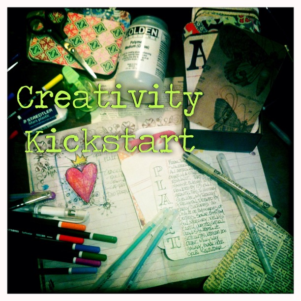 FRIDAY Creativity Kick Start with Megan Anderson