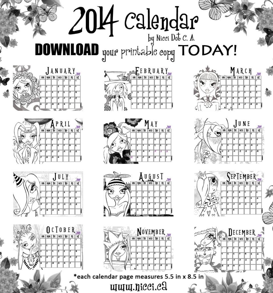Calendar-ETSY-promo-2014